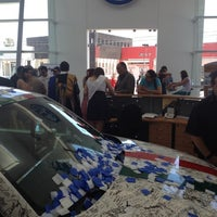 Photo taken at Volkswagen Potosina by Carlos S. on 4/22/2012