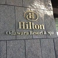Photo taken at Hilton Odawara Resort & Spa by Yuichi T. on 8/30/2012