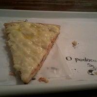 Photo taken at O Pedaço da Pizza by Mayara S. on 1/10/2012