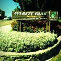 Photo taken at Everett Park by Diane L. on 12/21/2011