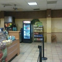 Photo taken at SUBWAY by Christopher D. on 9/13/2011
