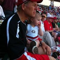 Photo taken at Foley Field by Meg B. on 3/17/2012