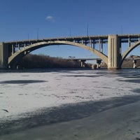 Photo taken at West River Parkway by Patrick V. on 12/25/2011