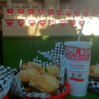 Photo taken at Home Run Sliders by Matt J. on 1/2/2012