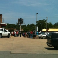 Photo taken at Chick-fil-A Rogers Avenue by Brandon on 8/30/2012