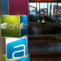 Photo taken at Aloft Bogota Airport by Paula I. on 7/12/2012