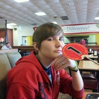 Photo taken at Cicis by Chelsea D. on 2/1/2012