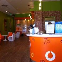 Photo taken at Orange Leaf Frozen Yogurt by Bradley C. on 2/20/2011