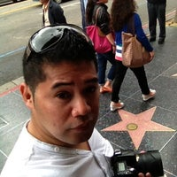 Photo taken at Godzilla's Star, Hollywood Walk of Fame by ARIEL B. on 5/25/2012