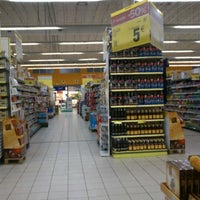 Photo taken at Carrefour by Cristina C. on 1/31/2012