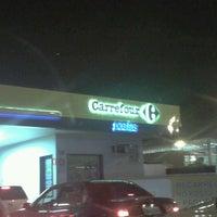 Photo taken at Posto Carrefour (Shell) by Rodrigo M. on 7/23/2012
