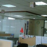 Photo taken at Ruangan Meting Agensi ( AXA Center lantai 12 ) by Ferdi S. on 4/15/2011