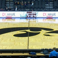 Photo taken at Carver-Hawkeye Arena by Scott on 1/20/2012