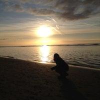 Photo taken at Strand Egmond Aan Zee by Roger v. on 1/15/2012