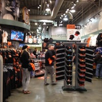 Photo taken at Giants Dugout Store by KimTen on 7/15/2012