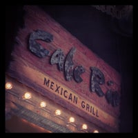 Photo taken at Cafe Rio by Zachary R. on 10/30/2011