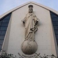 Photo taken at San Ildefonso Parish by Designer M. on 4/5/2012