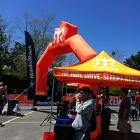 Photo taken at Ragnar Relay: Cape Cod - Finish Line by John V. on 5/12/2012