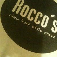 Photo taken at Rocco's Pizza by Rodrigo M. on 4/10/2012