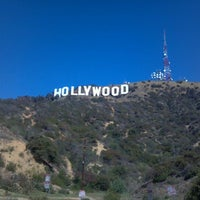 Photo taken at Hollywood Sign by Kyle W. on 4/1/2012