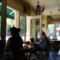 Photo taken at Cafe Pick Me Up by Thomas D. on 8/31/2012