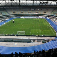 Photo taken at Stadio Marc'Antonio Bentegodi by Vanni V. on 5/5/2012