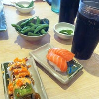 Photo taken at Fuji Sushi Boat & Buffet by Lauren G. on 8/19/2012