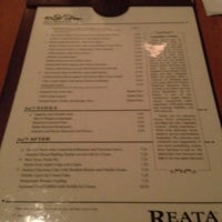 Photo taken at Reata Restaurant by Brian P. on 2/27/2012