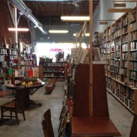 Photo taken at Stories Books & Cafe by Paul V. on 2/18/2012