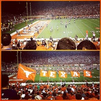 Photo taken at Darrell K. Royal-Texas Memorial Stadium by Jillian F. on 9/2/2012