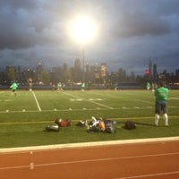 Photo taken at Weehawken Waterfront Park and Recreation Center by Mike S. on 4/23/2012