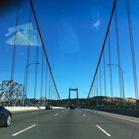 Photo taken at Carquinez Bridge by Chris on 6/30/2012
