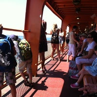 Photo taken at Staten Island Ferry Boat - Andrew J. Barberi by Dan H. on 7/25/2012