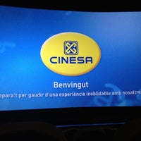Photo taken at Cinesa Diagonal Mar by Andreu S. on 3/17/2012