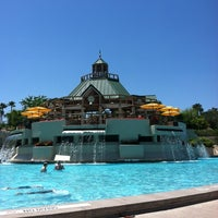 Photo taken at Marriott World Center Pool by Laura Ashleigh W. on 5/20/2012