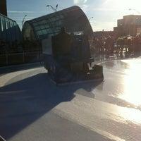 Photo taken at Brenton Skating Plaza by Zach T. on 12/28/2011