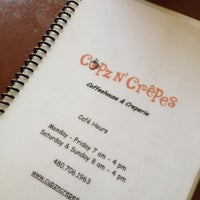 Photo taken at Cupz N'  Crepes by SewPixie W. on 4/15/2012