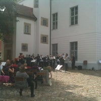 Photo taken at Jagdschloss Grunewald by Gabriele S. on 6/10/2012