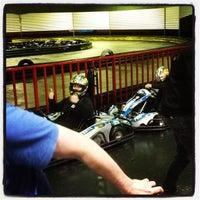Photo taken at Kart World Belmont by Josh E. on 6/9/2012