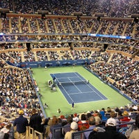 Photo taken at US Open Tennis Championships by Nihal M. on 9/11/2012