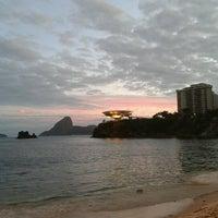 Photo taken at Praia das Flexas by Laís A. on 6/23/2012