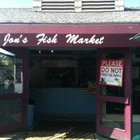 Photo taken at Jon's Fish Market by Margaretha G. on 7/28/2011