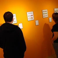 Photo taken at 407 Gallery by UWGB on 9/27/2011
