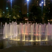 Photo taken at Centennial Olympic Park by Ryan G. on 9/8/2011