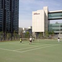 Photo taken at かえつ有明中学・高等学校 by Akihiro E. on 4/29/2012