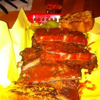 Photo taken at Moe's Bar-B-Que & Bowl by Elliot P. on 10/15/2011