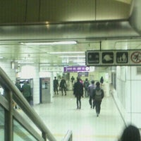 Photo taken at Songjeong Stn. by jungwon k. on 1/20/2012
