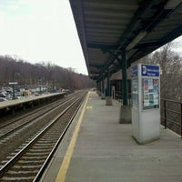Photo taken at Metro North - Garrison Train Station by Michael B. on 3/22/2011