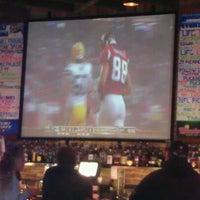 Photo taken at Puck Restaurant & Sports Bar by Elechka V. on 10/10/2011