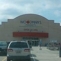 Photo taken at Woodman's Food Market by Dee R. on 9/2/2012